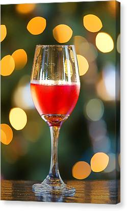 Holiday Spirits Canvas Print by Bill Tiepelman