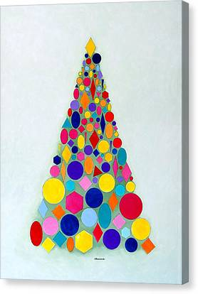 Holiday Tree #1 Canvas Print
