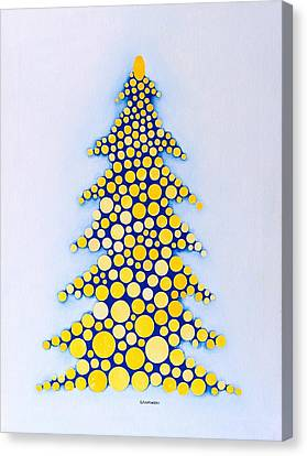 Holiday Tree #2 Canvas Print