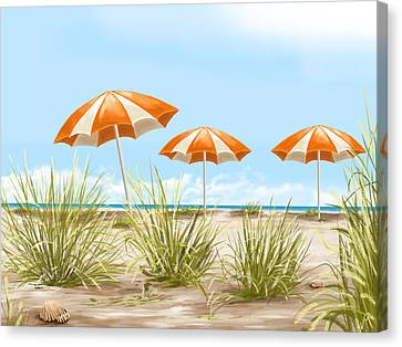 Holiday Canvas Print by Veronica Minozzi