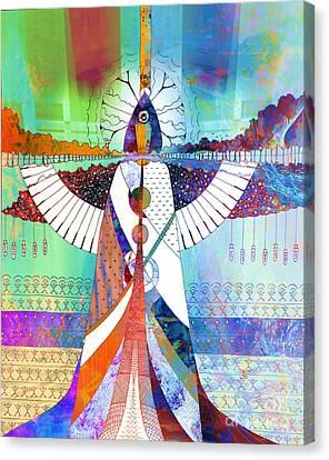 Spiritual Being Canvas Print - Hollow Bones by Robert Ball