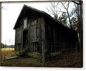 Holloway Township Historic Site Nc Usa Canvas Print by Kim Galluzzo Wozniak