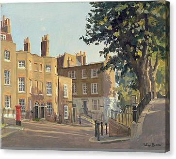 Holly Hill, Hampstead Oil On Canvas Canvas Print by Julian Barrow