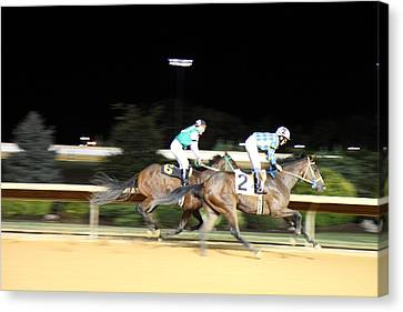 Hollywood Casino At Charles Town Races - 121212 Canvas Print by DC Photographer