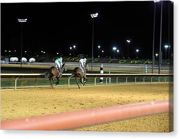 Hollywood Casino At Charles Town Races - 121221 Canvas Print by DC Photographer