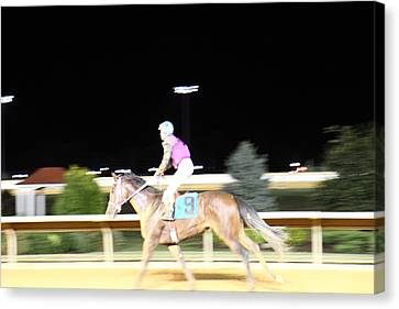 Hollywood Casino At Charles Town Races - 121226 Canvas Print by DC Photographer