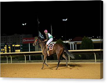 Hollywood Casino At Charles Town Races - 121233 Canvas Print by DC Photographer