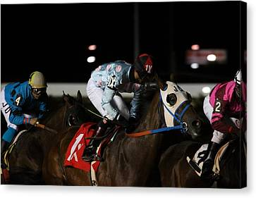 Hollywood Casino At Charles Town Races - 121242 Canvas Print by DC Photographer