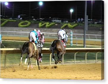 Hollywood Casino At Charles Town Races - 121249 Canvas Print by DC Photographer