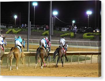 Hollywood Casino At Charles Town Races - 121250 Canvas Print by DC Photographer