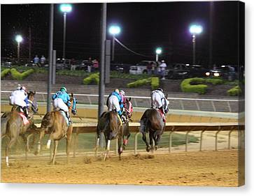 West Canvas Print - Hollywood Casino At Charles Town Races - 121251 by DC Photographer