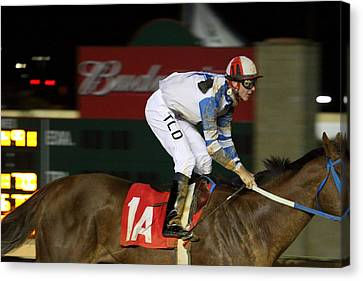 Hollywood Casino At Charles Town Races - 121258 Canvas Print by DC Photographer