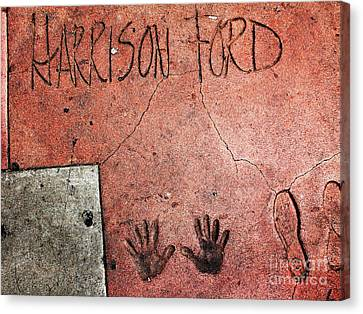 Hollywood Chinese Theatre Harrison Ford 5d29057 Canvas Print