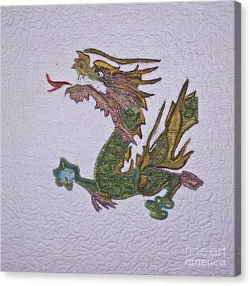 Hollywood Dragon Canvas Print