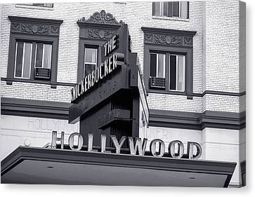 Hollywood Landmarks - The Knickerbocker Canvas Print by Art Block Collections