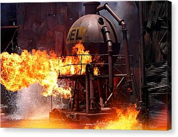 Hollywood Movie Set Canvas Print by See My  Photos