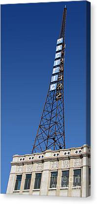 Hollywood Pacific Theatre Tower Canvas Print by Gregory Dyer