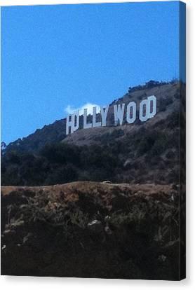 Hollywood Canvas Print by Selia Hansen