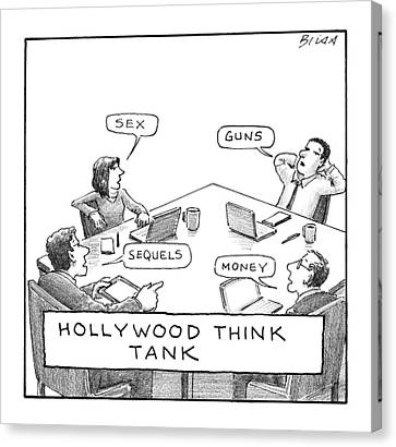 Hollywood Think Tank Canvas Print