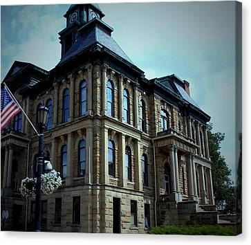 Holmes County Ohio Courthouse Canvas Print