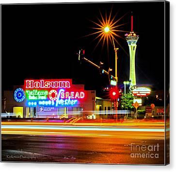 Holsum Las Vegas II Canvas Print by Kip Krause