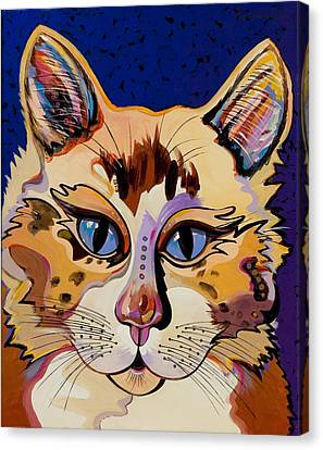 Holy Cat Canvas Print by Bob Coonts