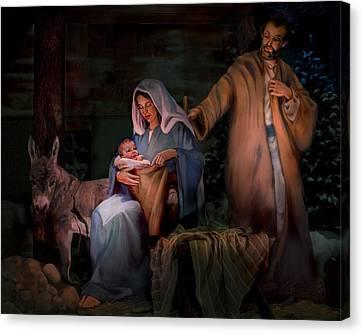 Holy Child Canvas Print