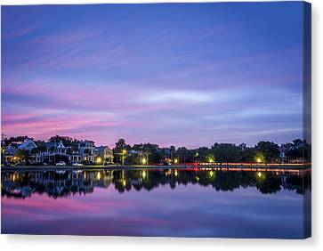 Holy City Reflections Canvas Print