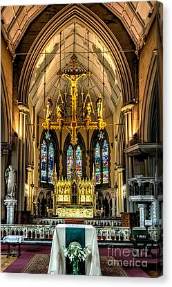 Holy Cross Canvas Print by Adrian Evans