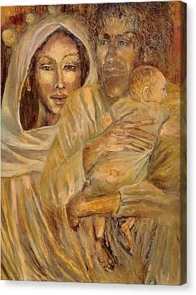 Holy Family Canvas Print