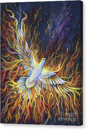Holy Fire Canvas Print