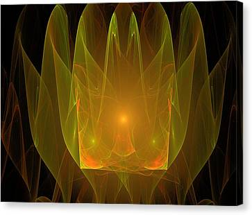 Holy Ghost Fire Canvas Print by Bruce Nutting