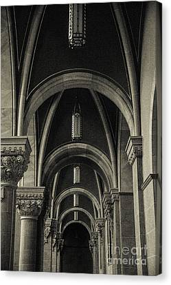 Mary Help Of The Romans Canvas Print - Holy Hill Archways by Christina Klausen