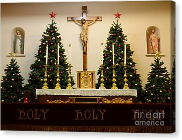Holy Holy Holy Canvas Print by Bob Christopher