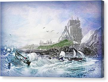 Holy Island - Lindisfarne Canvas Print