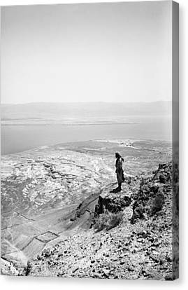 Holy Land Dead Sea, C1910 Canvas Print by Granger