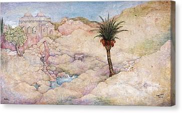 Holy Land Canvas Print by Michoel Muchnik