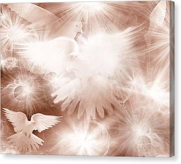 Holy Light Canvas Print