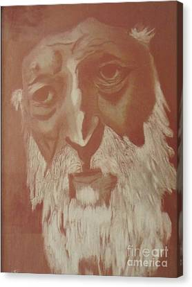 Moroccan Canvas Print - Holy Man by Harry Pity