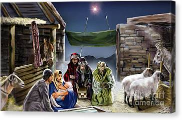 Holy Night Canvas Print by Reggie Duffie