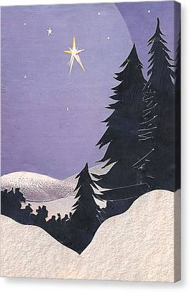Holy Night Canvas Print by Robin Birrell
