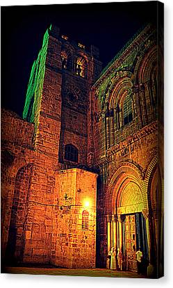 Holy-sepulchre Canvas Print by Amr Miqdadi