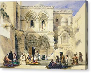 Holy Sepulchre, In Jerusalem Canvas Print