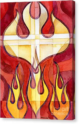 Pentecost Canvas Print - Holy Spirit 2 by Mark Jennings