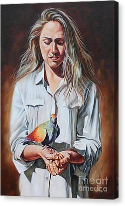 Canvas Print - Holy Spirit by Ilse Kleyn