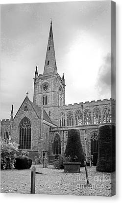 Shakespear Canvas Print - Holy Trinity Church Stratford Upon Avon by Terri Waters