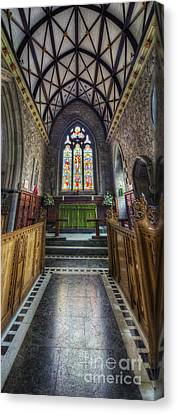 Holy Trinity Church Vertotama Canvas Print by Ian Mitchell