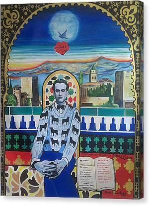 Homage To Garcia Lorca Canvas Print