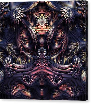 Homage To Giger Canvas Print by Lyle Hatch