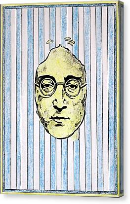 Homage To John Lennon  Canvas Print by John  Nolan